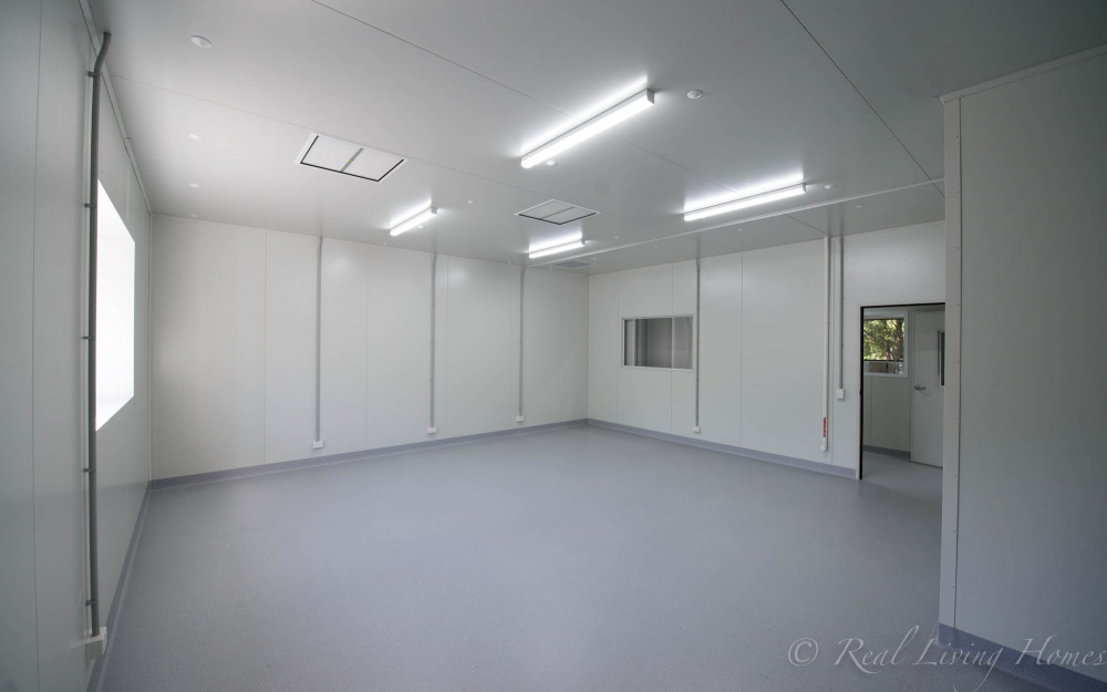 Large Scale Commercial Shed